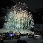 Blue night in Alpbach