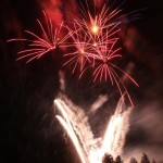 Das Feuerwerk in Seefeld 2013